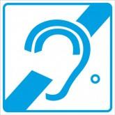 """Пиктограмма """"Доступность для инвалидов по слуху"""""""