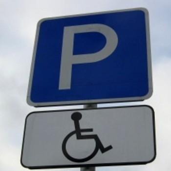 """Знак """"Парковка для инвалидов"""" светоотражающий"""